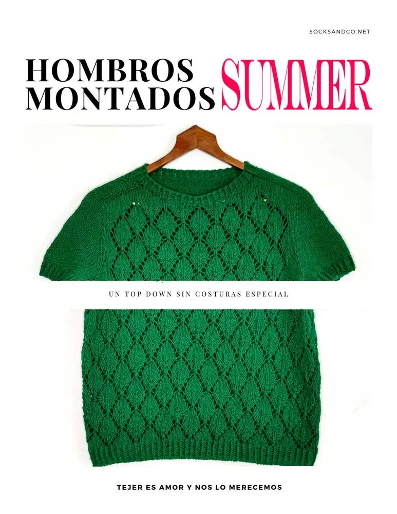Hombros Montados Summer by SocksandCo