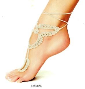 Me Moi Foot Jewelry Byzantium Sandal