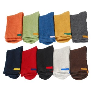rick solid color men socks