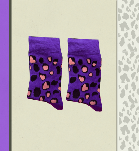 Animal Print Socks