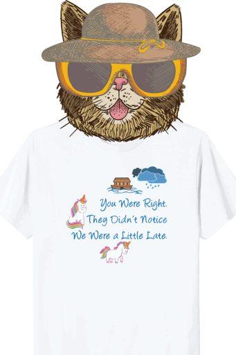 Cat shirt mockup