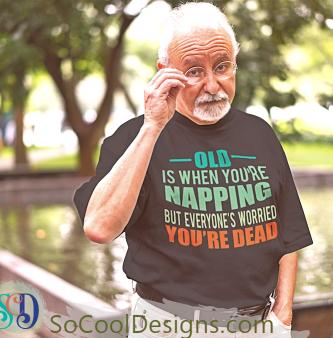 Funny Senior T-Shirt