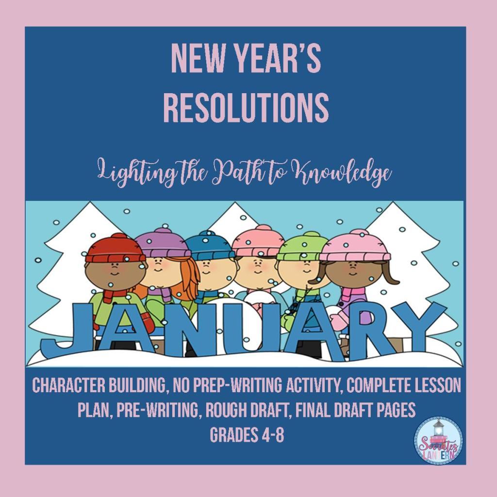 New Year's Resolutions Writing Activity