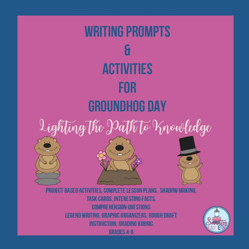 Writing Prompts & Activities for Groundhog Day