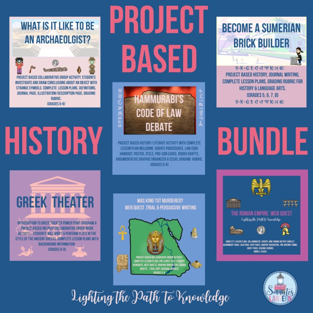 PBL Ancient History Bundle