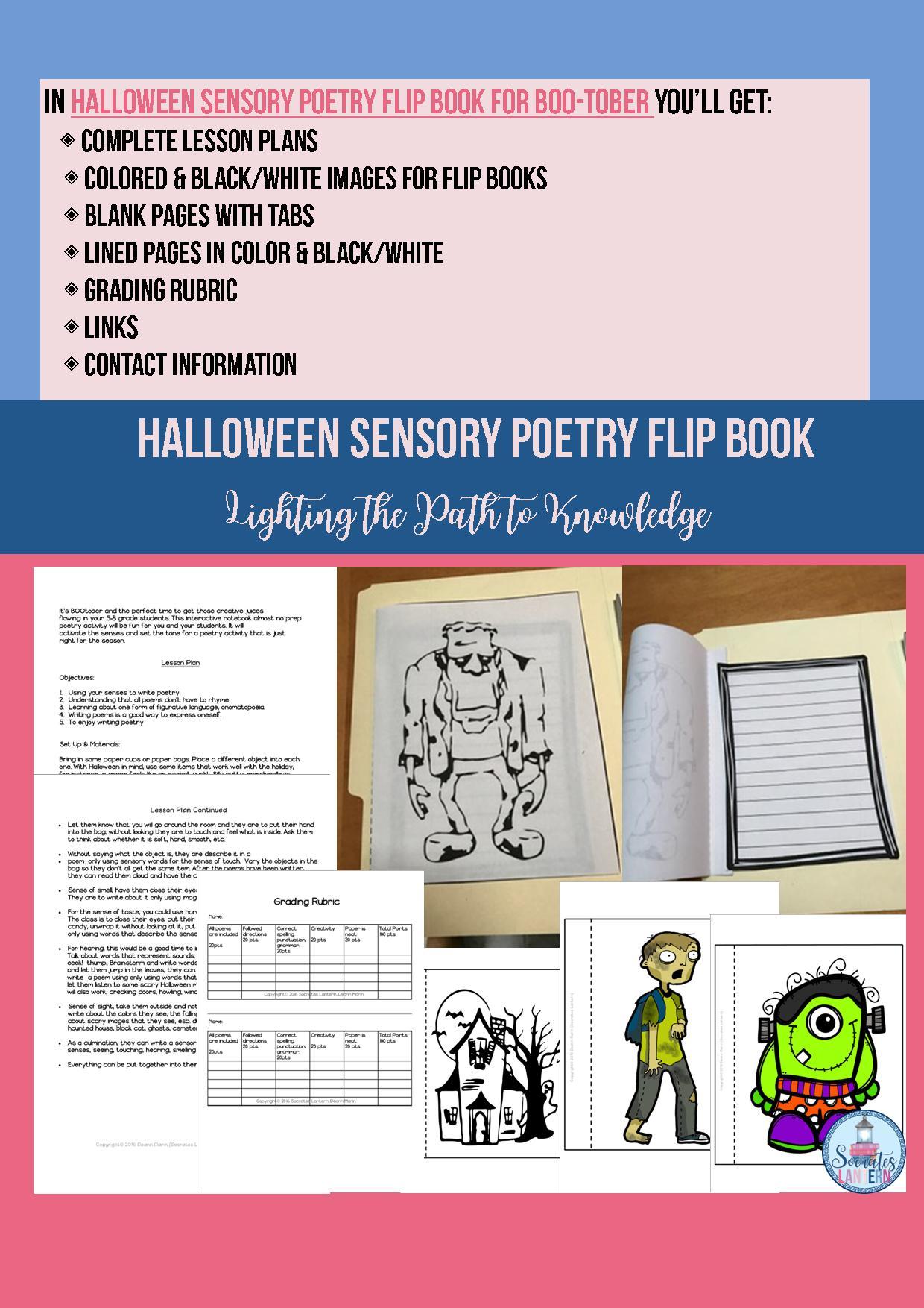 Sensory Poems 1