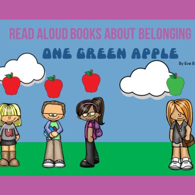Read Aloud Books About Belonging: One Green Apple