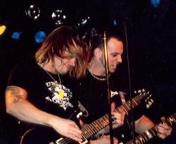 Myles Kennedy and Mark Tremonti of Alter Bridge