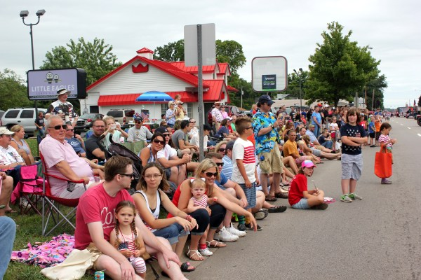 Schoolcraft hosts big crowds for its 4th of July parade each year.