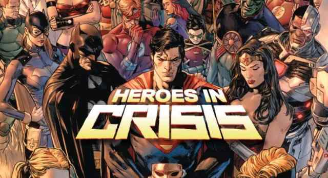 Heroes In Crisis, Superman, Wonder Woman, DC Comics, Comic Review