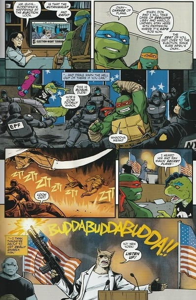 TEENAGE MUTANT NINJA TURTLES #98 - City At War Part 6 3