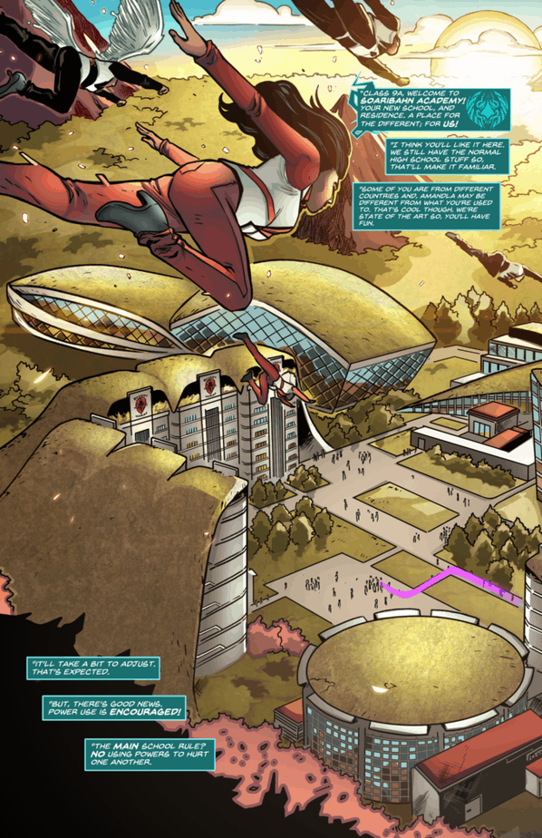 REVIEW: Temple High #1 Takes Flight 2
