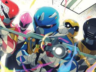 When 4 Ninja Turtles Become Power Rangers in MMPR/TMNT #4 2