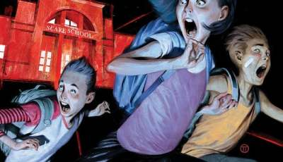 DISNEY+ greenlights 'JUST BEYOND' Series, based on Best-Selling Graphic Novel by R.L. Stine 8