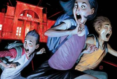 DISNEY+ greenlights 'JUST BEYOND' Series, based on Best-Selling Graphic Novel by R.L. Stine 7