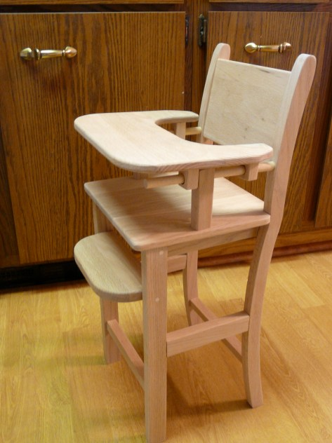 Download Baby Doll High Chair Wood Plans DIY Wooden Grill
