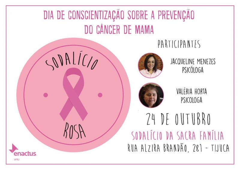 Convite: Dia de Conscientização sobre a prevenção do câncer de mama