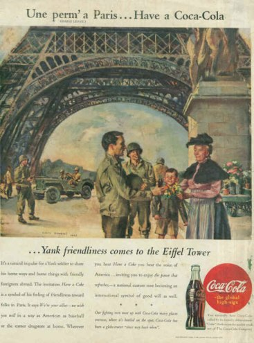 coca-cola_ad_american_soldiers_in_france_1945