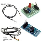 1/2M DS18B20 Temperature Sensitive Module Thermometer Waterproof Cable Probe
