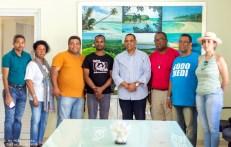 Al centro, representantes de Codepres junto a miembros de las Comisiones de Etica y Finanzas de Sodomedi