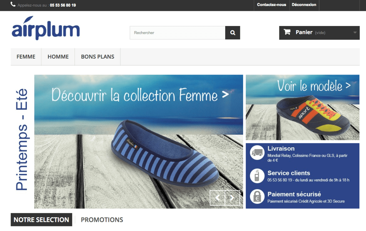 french online store