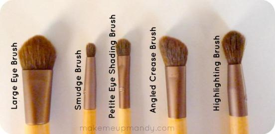 blogmas 2015, day 11, beauty wishlist, ecotools brushes, eye brushes