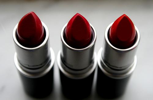 blogmas 2015, day 11, beauty wishlist, mac lipsticks, artsy, tumblr, pinterest, reds - russian red, cockney, ruby woo
