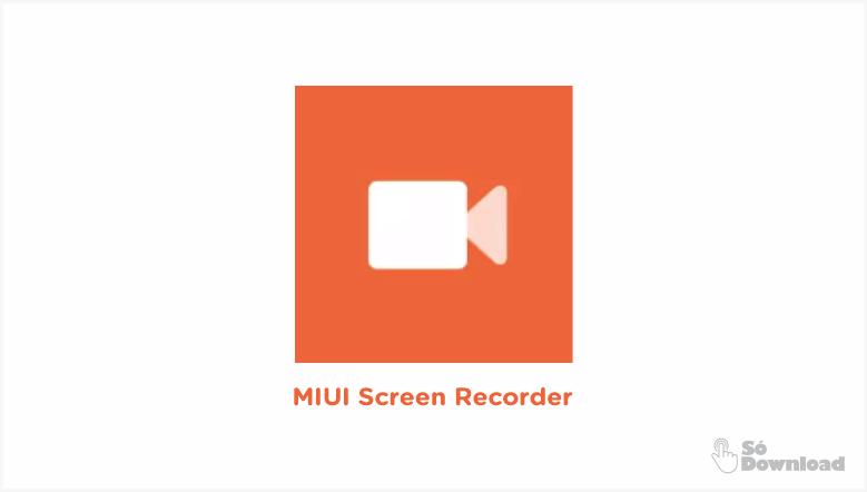 MIUI Screen Recorder