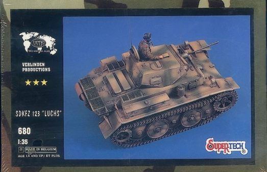 A cool but mostly useless update set for the Techmod Luchs in the 90's.