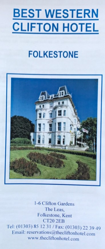 A brochure from the Clifton 2004