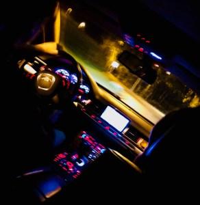 Audi W12 ride into Barca