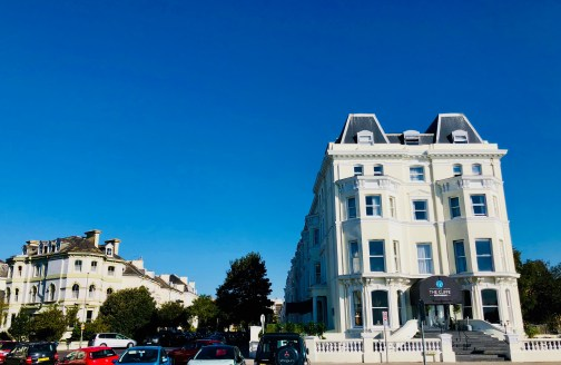 First morning in Folkestone, delightful weather