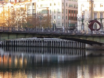 Bridge near the Casco Viejo (Old City) of Bilbao