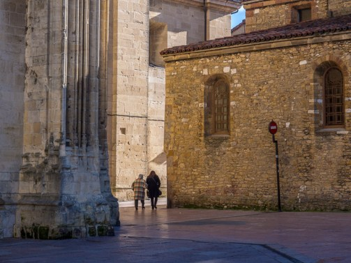 Passing by the cathedral - Oviedo