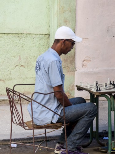 Chess is huge in Cuba and we saw many streetside chess players as well as chess clubs where you could see both retirees and kids playing chess in the afternoons. Saul hung around, trying to get an invitation to a game, but aside from a few quizzical looks, we were ignored and he never had the opportunity to be trounced by a 10-year old.