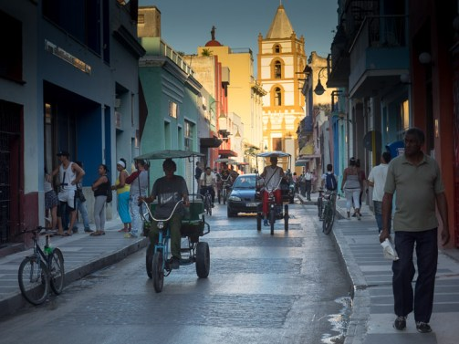 This photo was taken in Camagüey, not Havana, but seemed to belong with the Havana collection of transport-related pics