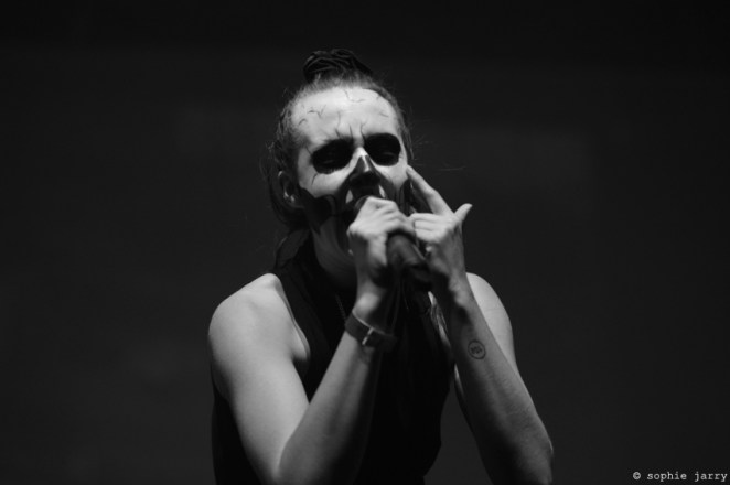 MØ @ #P4Kparis Pitchfork Music Festival Paris – photo by Sophie Jarry for sodwee.com