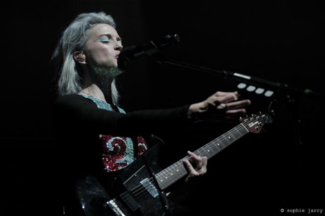 St Vincent at #p4kparis – photo by Sophie Jarry for Sodwee.com