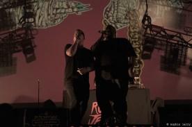 RUN THE JEWELS - Pitchfork Festival Paris. 31 October 2015New York City-based rapper-producer El-P and Atlanta-based rapper Killer Mike