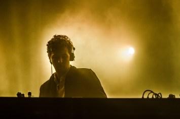 Jamie xx live - Photo by Hjordis Jonsdottir