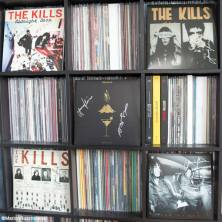 All albums from The Kills on vinyl, all autographed by the group.