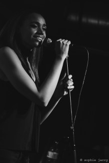 JONES 25 October 2016 Avant-Garde Pitchfork festival Paris - Café de la Presse, Bastille, Paris