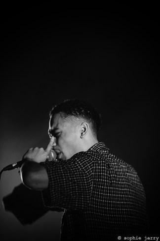LOYLE CARNER - 25 October 2016 - Avant-Garde Pitchfork Music Festival, Paris. Café de la Danse