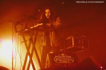Flavien Berger.Pitchfork Music Festival.28 octobre 2016.La Grande Halle de la Villette.Paris.Michela Cuccagna©