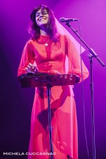 Bat for Lashes.Pitchfork Music Festival.28 octobre 2016.La Grande Halle de la Villette.Paris.Michela Cuccagna©