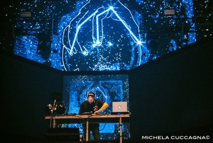DJ Shadow.Pitchfork Music Festival.27 octobre 2016.La Grande Halle de la Villette.Paris.Michela Cuccagna©