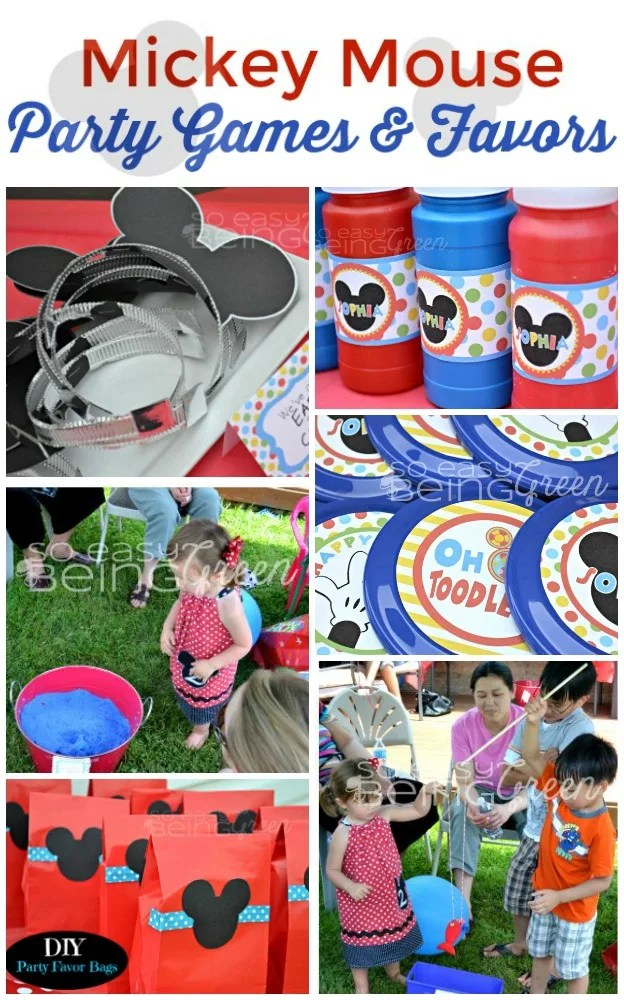 Mickey Mouse Birthday Party Oh Twodles Simple Cute Diy Ideas