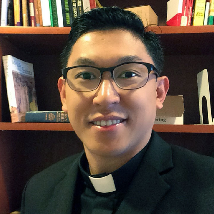Ernald Andal  - Alumnus Profile: A Jesuit Priest from the Philippines Strives for Social Justice