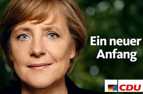 Angela Merkel, a new start: thats already more like it.