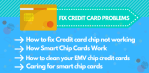 Credit card chip not working